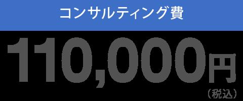 コンサルティング費用 通常81,000円(税込)が54,000円(税込)に