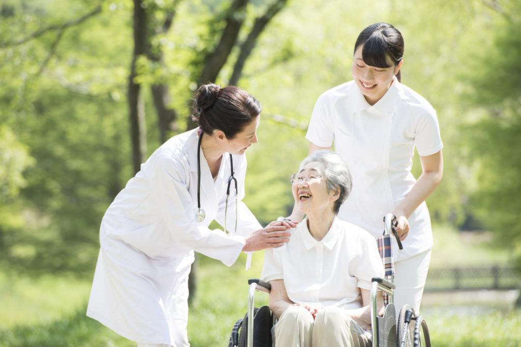 介護保険制度を利用している人
